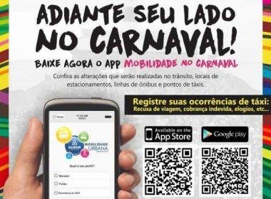 Aplicativo promete facilitar mobilidade no Carnaval
