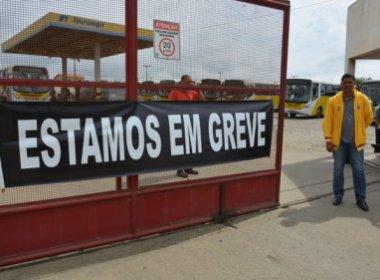 Funcionários de empresa de ônibus mantém paralisação em Vitória da Conquista