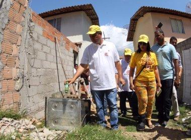Rui realiza ação de combate ao Aedes aegypti em Porto Seguro