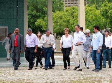 Em Juazeiro, Dilma e Rui Costa visitam fábrica de mosquitos e lançam campanha contra Aedes