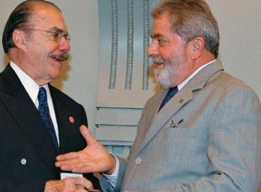Sarney sugeriu que Lula não aceite ministério: 'país com 2 presidentes não tem nenhum'
