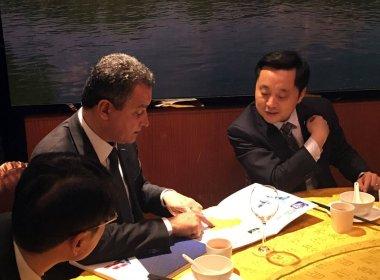 Rui volta da China com acordos que visam acelerar obras na Bahia