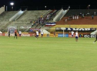 Em jogo insosso, Bahia e Globo-RN empatam sem gols em Ceará-Mirim