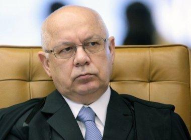 Teori homologa delação de ex-presidente da Andrade Gutierrez