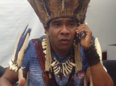 Secretaria de Justiça acompanha prisão de líder indígena 'Babau' em Ilhéus