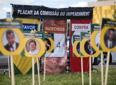 Às vésperas de votação, 17 deputados baianos apoiam Dilma; 16 são a favor do impeachment