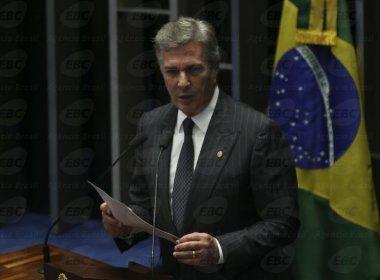 Em discurso, Collor afirma que alertou governo sobre possibilidade de impeachment