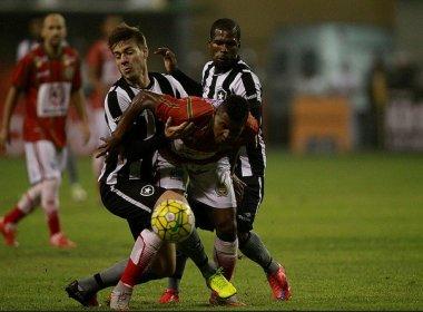 Juazeirense joga melhor, mas perde para o Botafogo e está eliminado da Copa do Brasil