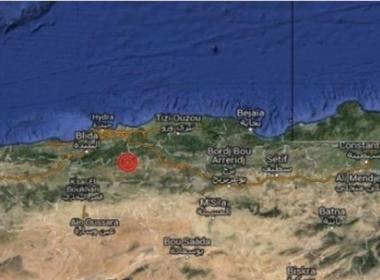 Terremoto deixa ao menos 20 feridos na Argélia; cidade registrou tremores em abril