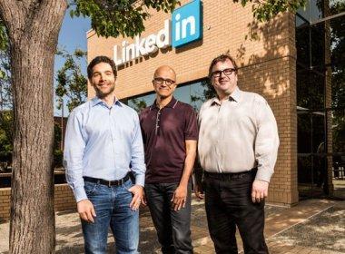 Microsoft anuncia compra da rede social LinkedIn por US$ 26,2 bilhões
