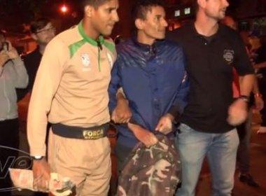 Homem é preso por tentar apagar Tocha Olímpica com extintor no Paraná
