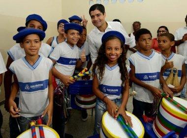 Em último dia para inaugurações, prefeitura entrega cinco escolas em Salvador