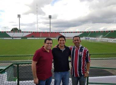 Marinho liberado pelo DM e vice-presidente do Bahia no Joia são destaques em Esportes