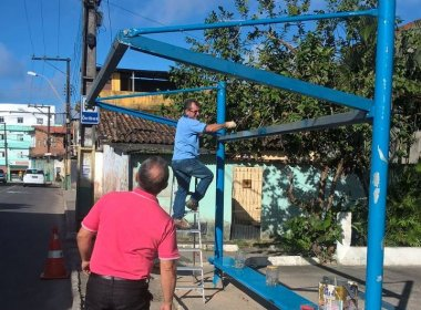 Abrigo de ônibus é furtado em Cajazeiras XI; ação é a quarta em julho