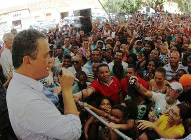 Rui Costa entrega sistema de abastecimento e viaturas no norte da Bahia