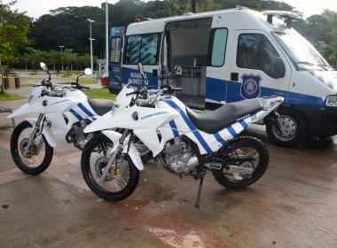 Parque da Cidade ganha patrulhamento motorizado da Guarda Municipal