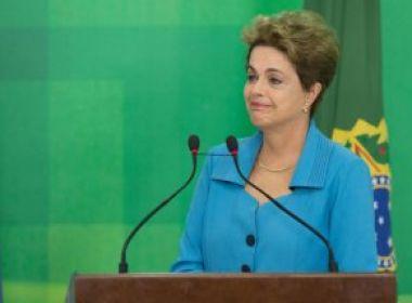 Dilma faz sua defesa no Senado nesta segunda com discurso emotivo e contra o 'golpe'