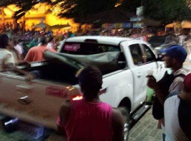 Sete pessoas são baleadas em comício com Rui Costa em Ipiaú e suspeito é preso; veja vídeo