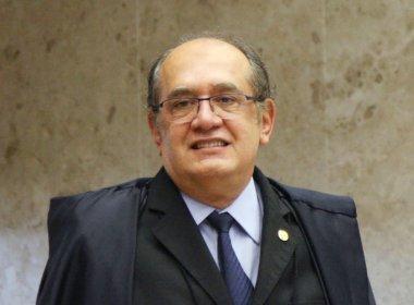 Denúncia do MPF dá 'segurança' a Lula, diz Gilmar Mendes