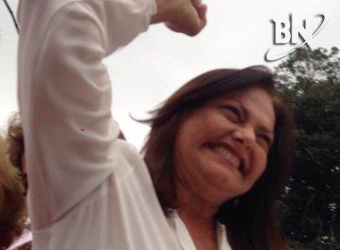 Alice Portugal desafia ACM Neto a participar de debates: 'Quero ficar olhos nos olhos'