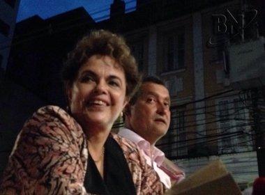 Em discurso em Salvador, Dilma diz que Neto 'ponga' em obra do metrô: 'Estou estarrecida'