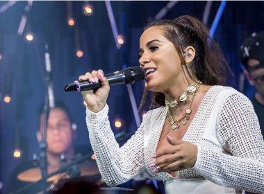 Anitta cancela shows por causa de cisto nas cordas vocais: 'Estou muito triste'