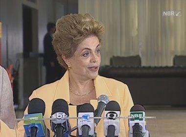 Dilma afirma que processos relacionados à Pasadena já foram arquivados