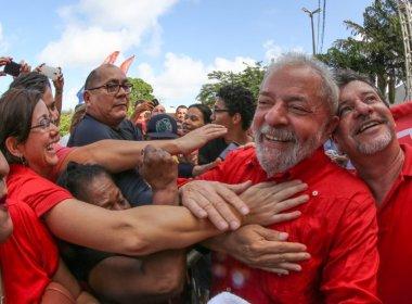 Lula ironiza fuga do Brasil e diz que só pediria asilo em Garanhuns