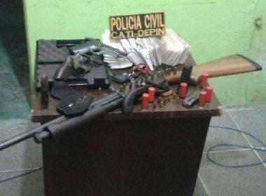 Polícia apreendeu 3.737 armas de fogo até agosto; peças somam quase R$ 4 mi