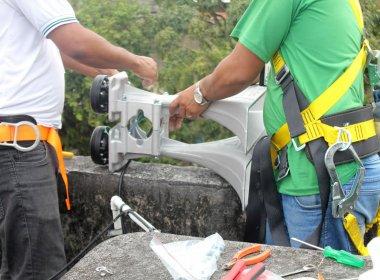 Defesa Civil instala novas sirenes de emergência em duas localidades de Salvador