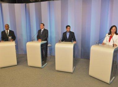 Debate TV Bahia: Em considerações finais, candidatos agradecem a Deus e a eleitores