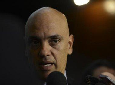 Alexandre de Moraes diz que policiais do Senado presos 'extrapolaram'