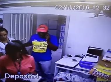 Loja da Magazine Luiza é assaltada no Shopping Piedade; veja imagens