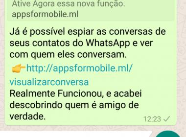 Vírus repassado por WhatsApp afeta mais de 100 mil usuários