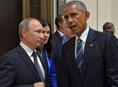Obama e Putin discutem guerra na Síria durante encontro em Lima
