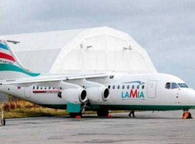 Empresa de avião que caiu na Colômbia será investigada pelo governo boliviano