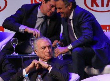 Internautas repercutem conversa próxima entre Aécio e Moro; Lindbergh ironiza