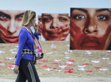 Pesquisa mostra que 88% dos homens ainda culpam mulher por estupro