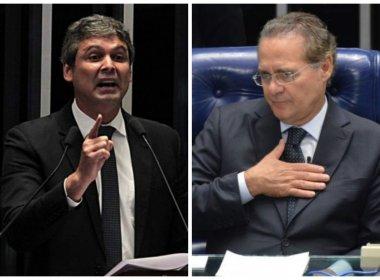 Renan Calheiros e Lindbergh Farias trocam farpas durante discussão  sobre PEC 55
