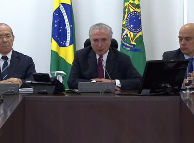 Manaus: Governo não teve 'responsabilidade direta' sobre 'acidente pavoroso', diz Temer