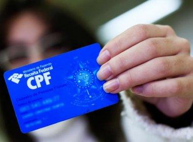 Receita disponibiliza ferramenta de atualização online de CPF a partir desta segunda