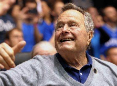 Ex-presidente dos EUA, George H. W. Bush é internado; estado de saúde é estável