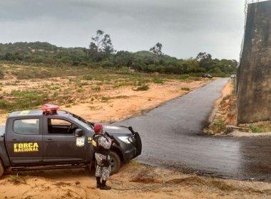 Força Nacional encontra 3º túnel em dois dias de operação na Penitenciária de Alcaçuz