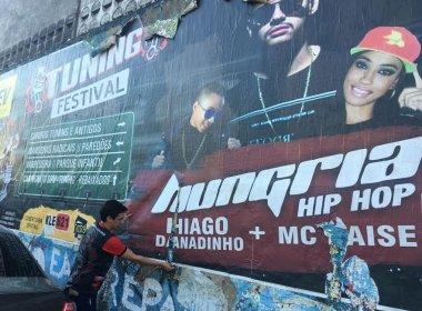 Após limpeza de muros, evento automobilístico Tuning Festival tem realização liberada