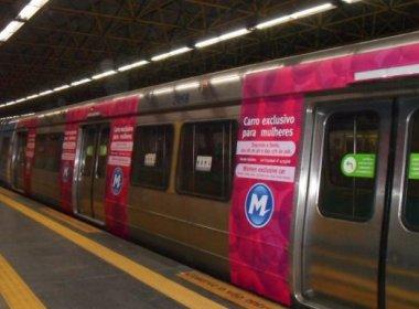 Metrô de Salvador pode ter vagões para uso exclusivo de mulheres