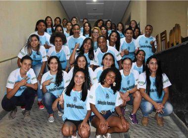 Com seleção municipal, Vitória da Conquista quer fomentar o futebol feminino na região