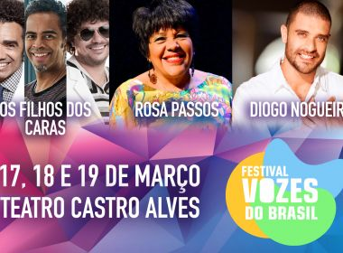 Diogo Nogueira substitui Arlindo Cruz no projeto Vozes do Brasil