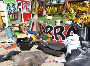 Porto Seguro: Após pedido do MPF, barraqueiros iniciam adequação na orla norte