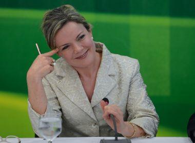 Com apoio de Lula, Gleisi Hoffmann desponta como preferida à presidência do PT