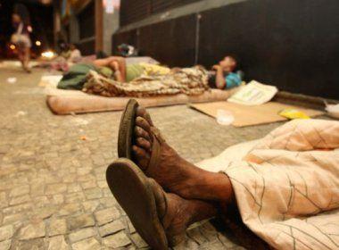 Salvador tem cerca de 20 mil pessoas em situação de rua, aponta levantamento